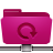 folder, pink, remote, backup icon