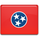 tennessee,flag icon