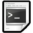 terminal, script, command icon