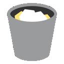 recycle, trash, recycle bin, bin, full icon