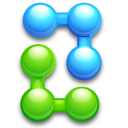 balls, ball, joint, kfouleggs, bend, atom, join icon