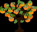 fruits tree icon