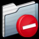 Private Folder graphite icon