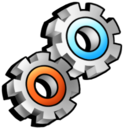 execute, process, utilities, running, settings, gears icon
