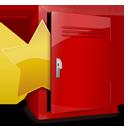 locker, favorite icon