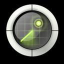 nearby, find, radar, locate icon