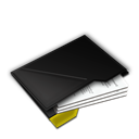 Documents, Inside, My, Yellow icon