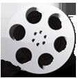 movie, reel, video, film icon