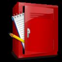 locker,notebook icon