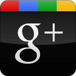 googleplus, gloss, black icon