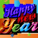 happy, xmas, year, new icon