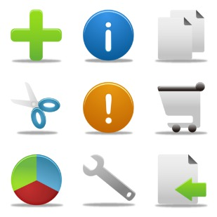 Office icon sets preview