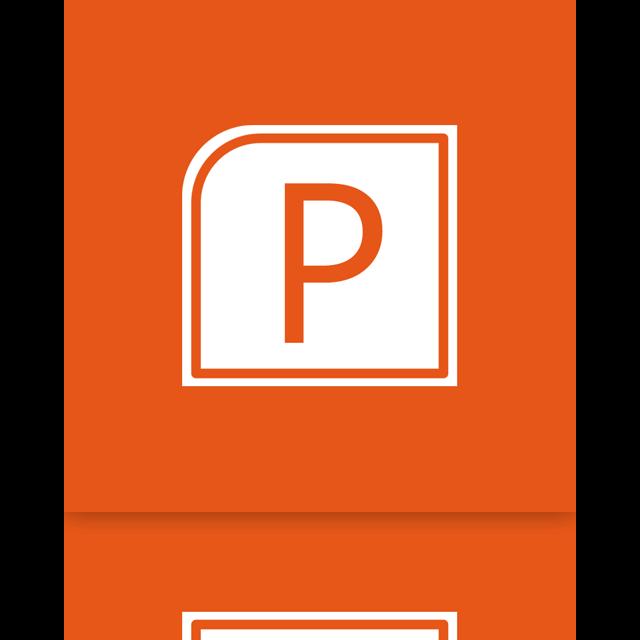 alt, mirror, powerpoint icon