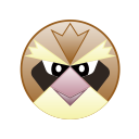 monster, cute, bird, pidgey, go, pokemon icon