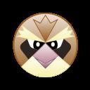 monster, cute, bird, pidgey, go, pokemon icon