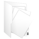 document, paper, m, file icon
