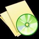 document,yellow,music icon