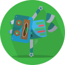 robot, technology, metal, android, mascot, robotic, mechanical, space, fun robot, robot expression icon