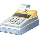 machine, cashbox, cash, payment, register icon