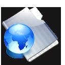 site, graphite icon