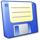 save, disk, floppy, disc, blue icon