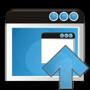 application arrow up icon