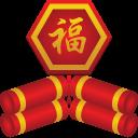 gcds, firecracker icon