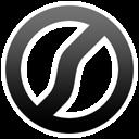 Black Delete icon