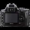Nikon D40 back icon
