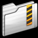 security,folder,white icon