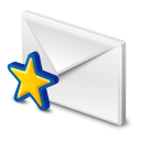 gmail, message, mail, letter, email, stared, envelop icon