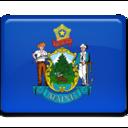 Maine Flag icon