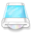 drive blue disk icon