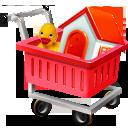 shopping, cart, ecommerce, webshop icon