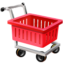 shopping cart, webshop, ecommerce, empty icon