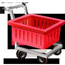 shopping cart, webshop, ecommerce, empty icon