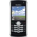 blackberry, pearl, black icon