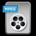 File, Mpeg, Video icon