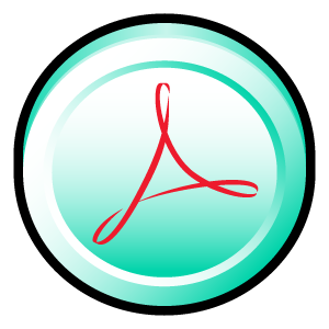 cs, distiller, acrobat, adobe, badge icon