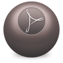 acrobat, distiller icon