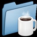 Blue, Coffee icon