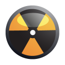 nuclear, biohazard, danger icon