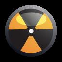 nuclear, biohazard, danger icon
