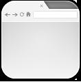 Alt, Browser, Empty icon
