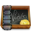 Ardoise, Dossier, Video icon