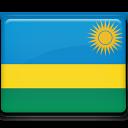 rwanda, flag icon