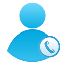 user, call, call center icon