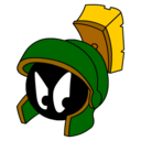marvin,martian,angry icon