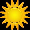 sunny,weather icon