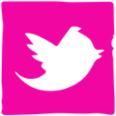 twitter, ink, social, media, pen icon